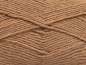 Fiber Content 50% Acrylic, 25% Alpaca, 25% Wool, Brand ICE, Camel, Yarn Thickness 3 Light  DK, Light, Worsted, fnt2-60893