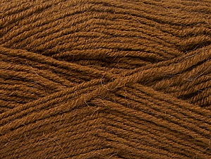 Fiber Content 50% Acrylic, 25% Alpaca, 25% Wool, Brand ICE, Brown, Yarn Thickness 3 Light  DK, Light, Worsted, fnt2-60894