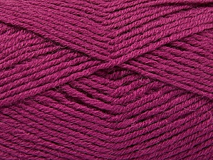 Fiber Content 50% Acrylic, 25% Wool, 25% Alpaca, Orchid, Brand ICE, Yarn Thickness 3 Light  DK, Light, Worsted, fnt2-60897