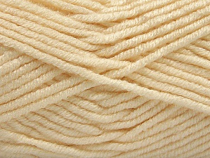 Fiber Content 100% Acrylic, Brand ICE, Cream, Yarn Thickness 5 Bulky  Chunky, Craft, Rug, fnt2-60923