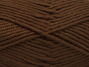 Fiber Content 100% Acrylic, Brand ICE, Dark Brown, fnt2-60929