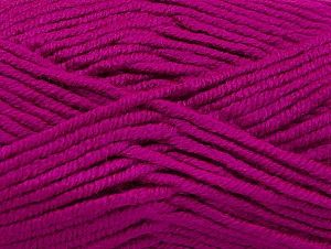 Fiber Content 100% Acrylic, Brand ICE, Fuchsia, Yarn Thickness 5 Bulky  Chunky, Craft, Rug, fnt2-60941