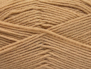 Fiber Content 100% Acrylic, Brand ICE, Dark Beige, Yarn Thickness 4 Medium  Worsted, Afghan, Aran, fnt2-60964