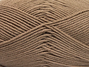 Fiber Content 100% Acrylic, Brand ICE, Camel, Yarn Thickness 4 Medium  Worsted, Afghan, Aran, fnt2-60966