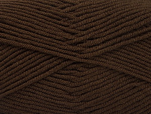Fiber Content 100% Acrylic, Brand ICE, Dark Brown, fnt2-60968