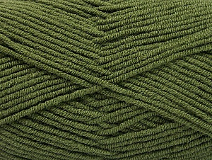 Fiber Content 100% Acrylic, Khaki, Brand ICE, Yarn Thickness 4 Medium  Worsted, Afghan, Aran, fnt2-60980