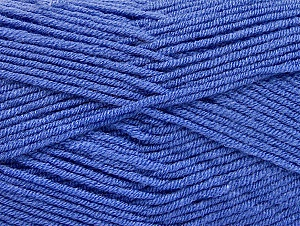 Fiber Content 100% Acrylic, Indigo Blue, Brand ICE, Yarn Thickness 4 Medium  Worsted, Afghan, Aran, fnt2-60987