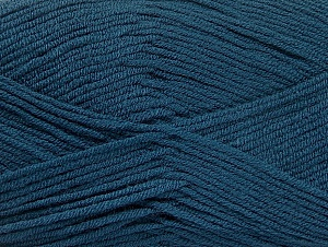 Fiber Content 100% Acrylic, Brand ICE, Dark Blue, Yarn Thickness 4 Medium  Worsted, Afghan, Aran, fnt2-60989