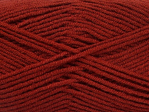Fiber Content 100% Acrylic, Brand ICE, Dark Copper, Yarn Thickness 4 Medium  Worsted, Afghan, Aran, fnt2-60990