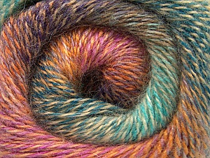 Vezelgehalte 75% Premium acryl, 15% Wol, 10% Mohair, Turquoise, Purple, Pink, Mint Green, Brand ICE, Gold, fnt2-61010