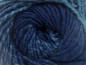 Fiber Content 75% Premium Acrylic, 25% Wool, Purple, Jeans Blue, Brand ICE, Yarn Thickness 4 Medium  Worsted, Afghan, Aran, fnt2-61029