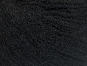 Fiber Content 85% Acrylic, 15% Bamboo, Brand ICE, Black, Yarn Thickness 4 Medium  Worsted, Afghan, Aran, fnt2-61092