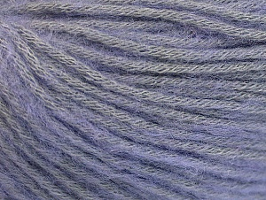 Fiber Content 85% Acrylic, 15% Bamboo, Light Lilac, Brand ICE, Yarn Thickness 4 Medium  Worsted, Afghan, Aran, fnt2-61095