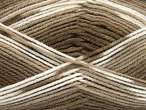 Fiber Content 100% Baby Acrylic, White, Brand ICE, Brown Shades, fnt2-61131