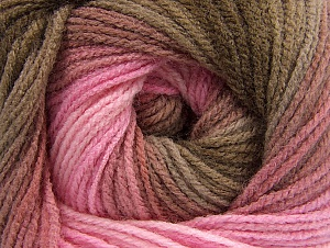 Fiber Content 100% Acrylic, Pink Shades, Brand ICE, Brown Shades, fnt2-61136