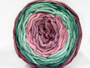 Fiber Content 100% Acrylic, Pink Shades, Maroon, Brand ICE, Green Shades, Yarn Thickness 4 Medium  Worsted, Afghan, Aran, fnt2-61165