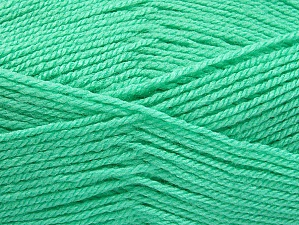 Fiber Content 100% Acrylic, Mint Green, Brand ICE, Yarn Thickness 3 Light  DK, Light, Worsted, fnt2-61217