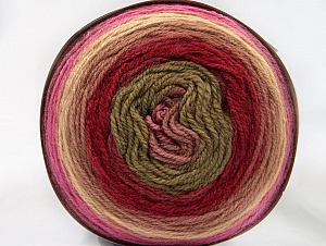 Fiber Content 70% Premium Acrylic, 30% Wool, Yellow, Rose Pink, Red, Pink Shades, Brand ICE, Yarn Thickness 3 Light  DK, Light, Worsted, fnt2-61224