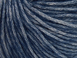 Fiber Content 85% Acrylic, 15% Bamboo, Navy, Brand ICE, Grey, Yarn Thickness 4 Medium  Worsted, Afghan, Aran, fnt2-61246