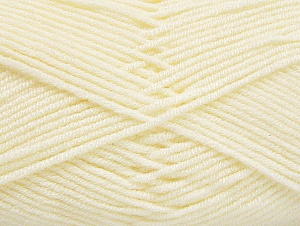 Fiber Content 100% Acrylic, Light Cream, Brand ICE, Yarn Thickness 4 Medium  Worsted, Afghan, Aran, fnt2-61277