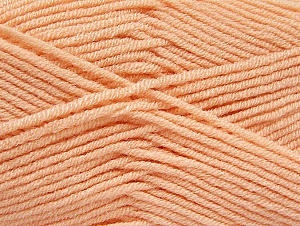 Fiber Content 100% Acrylic, Light Salmon, Brand ICE, Yarn Thickness 4 Medium  Worsted, Afghan, Aran, fnt2-61280