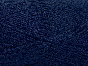 Fiber Content 60% Bamboo, 40% Polyamide, Navy, Brand ICE, Yarn Thickness 2 Fine  Sport, Baby, fnt2-61313