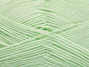 Fiber Content 60% Bamboo, 40% Polyamide, Light Mint Green, Brand ICE, Yarn Thickness 2 Fine  Sport, Baby, fnt2-61319