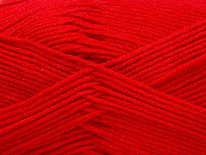 Fiber Content 60% Bamboo, 40% Polyamide, Red, Brand ICE, Yarn Thickness 2 Fine  Sport, Baby, fnt2-61325
