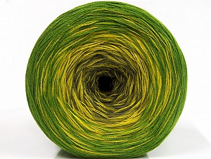 Fiber Content 50% Acrylic, 50% Cotton, Brand ICE, Green Shades, Yarn Thickness 2 Fine  Sport, Baby, fnt2-61790