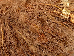 Fiber Content 50% Polyester, 50% Polyamide, Brand ICE, Gold, Camel, fnt2-62084