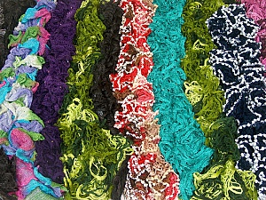 Ready-Made Scarves This mixed lot includes scarves made as sample Brand ICE, fnt2-62265