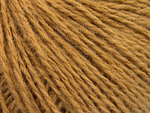 Fiber Content 50% Wool, 50% Acrylic, Light Brown, Brand ICE, fnt2-62294