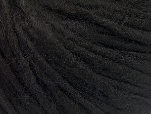 Fiberinnehåll 50% Akryl, 50% Ull, Brand ICE, Black, Yarn Thickness 4 Medium  Worsted, Afghan, Aran, fnt2-62363