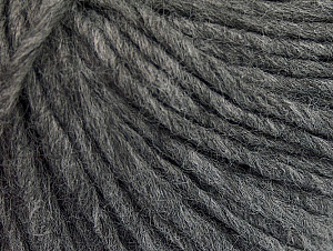 Fiberinnehåll 50% Akryl, 50% Ull, Brand ICE, Grey, Yarn Thickness 4 Medium  Worsted, Afghan, Aran, fnt2-62364