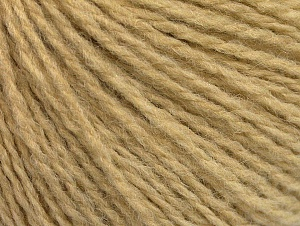 Fiber Content 50% Wool, 50% Acrylic, Brand ICE, Cafe Latte, Yarn Thickness 3 Light  DK, Light, Worsted, fnt2-62562