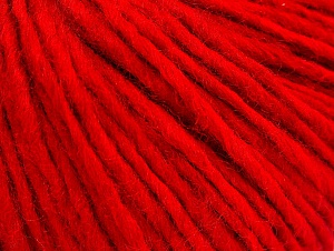 Fiber Content 50% Wool, 50% Acrylic, Red, Brand ICE, fnt2-62597