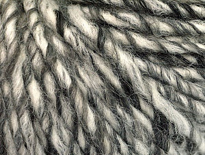 Fiber Content 50% Acrylic, 50% Wool, White, Brand ICE, Grey Shades, fnt2-62696