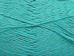 Fiber Content 49% Cotton, 49% Premium Acrylic, 2% Metallic Lurex, Light Turquoise, Brand ICE, fnt2-62896