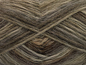 Fiber Content 60% Wool, 40% Acrylic, Brand ICE, Brown Shades, fnt2-63057