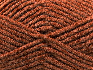Fiber Content 50% Acrylic, 50% Merino Wool, Brand KUKA, Brown, Yarn Thickness 5 Bulky  Chunky, Craft, Rug, fnt2-16725