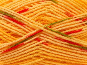 Fiber Content 100% Baby Acrylic, Yellow, Red, Brand Ice Yarns, Green, Gold, Yarn Thickness 2 Fine  Sport, Baby, fnt2-22041