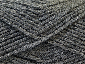 Fiber Content 100% Acrylic, Brand ICE, Grey, Yarn Thickness 3 Light  DK, Light, Worsted, fnt2-22409