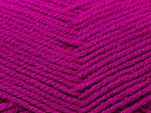 Fiber Content 100% Acrylic, Brand ICE, Fuchsia, Yarn Thickness 3 Light  DK, Light, Worsted, fnt2-22419
