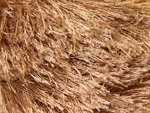 Fiber Content 100% Polyester, Brand ICE, Camel, Yarn Thickness 5 Bulky  Chunky, Craft, Rug, fnt2-22752