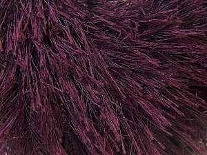 Fiber Content 100% Polyester, Brand ICE, Dark Maroon, Yarn Thickness 5 Bulky  Chunky, Craft, Rug, fnt2-22764