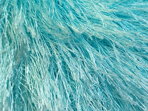 Fiber Content 100% Polyester, Light Turquoise, Brand ICE, Yarn Thickness 5 Bulky  Chunky, Craft, Rug, fnt2-22777