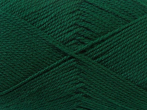 Fiber Content 100% Acrylic, Brand ICE, Dark Green, Yarn Thickness 2 Fine  Sport, Baby, fnt2-23586