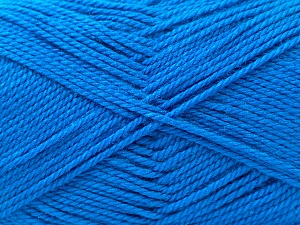 Fiber Content 100% Acrylic, Brand ICE, Blue, Yarn Thickness 2 Fine  Sport, Baby, fnt2-23782