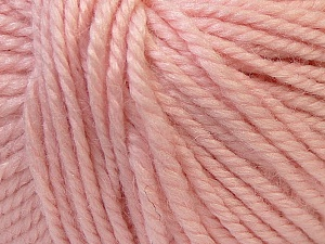 Fiber Content 40% Acrylic, 35% Wool, 25% Alpaca, Light Pink, Brand ICE, Yarn Thickness 5 Bulky  Chunky, Craft, Rug, fnt2-25408