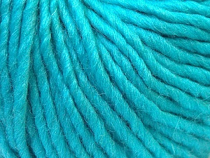 Fiber Content 100% Wool, Turquoise, Brand ICE, Yarn Thickness 5 Bulky  Chunky, Craft, Rug, fnt2-26010